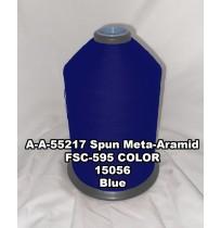 A-A-55217A Spun Meta-Aramid Thread, Tex 30/3, Size 50, Color Blue 15056